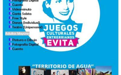 SEGUNDA EDICIÓN VIRTUAL DE JUEGOS CULTURALES ENTRERRIANOS EVITA